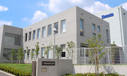 Exterior of KAMATA MACHINERY WORKS CO.,LTD. headquarters